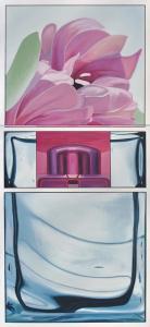 womenizer, olej i marker na płótnie, 130x60 cm, 2011-12 -